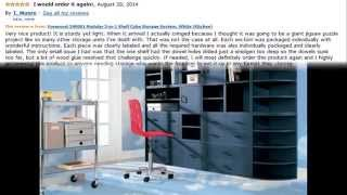 Foremost Modular 5 in 1 Shelf Cube Storage System
