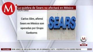 Quiebra de Sears en EU no afectará tiendas en México: Grupo Carso