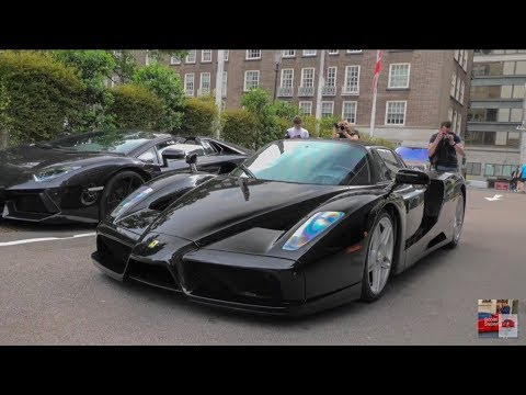 London Supercars June 2018 Ferrari Enzo La Tdf 918 And More