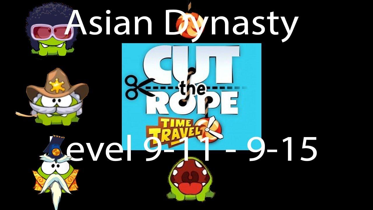 Cut The Rope Time Travel Walkthrough Asian Dynasty