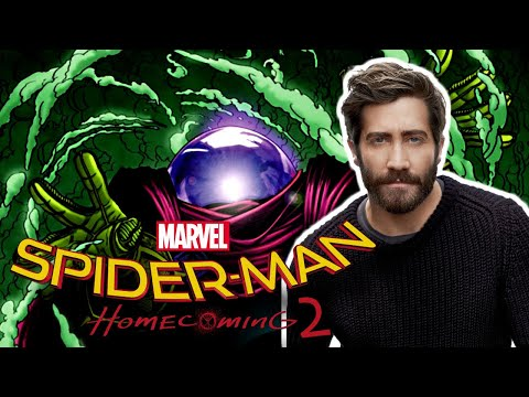 Jake Gyllenhaal Is Mysterio In SpiderMan: Homecoming 2