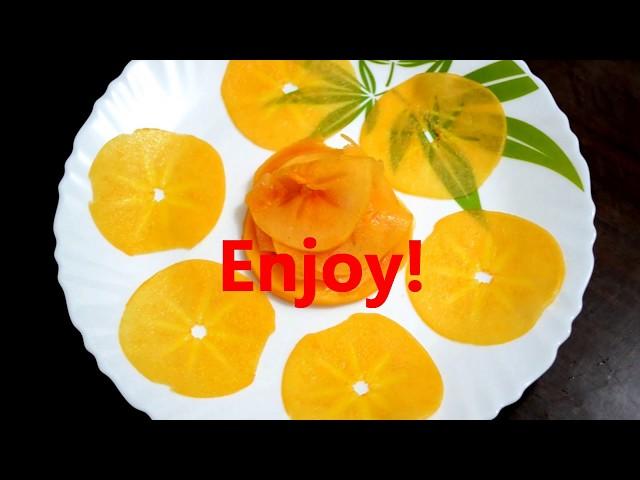 5 Health Benefits of Persimmon Fruit I ????? ?? ?? ?? ?????   How To Eat Japani Fruit   Limetrails