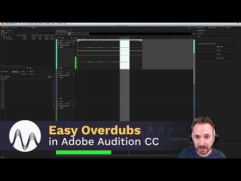 Easy Overdubs with Smart Monitoring in Adobe Audition CC 2018 Mp3