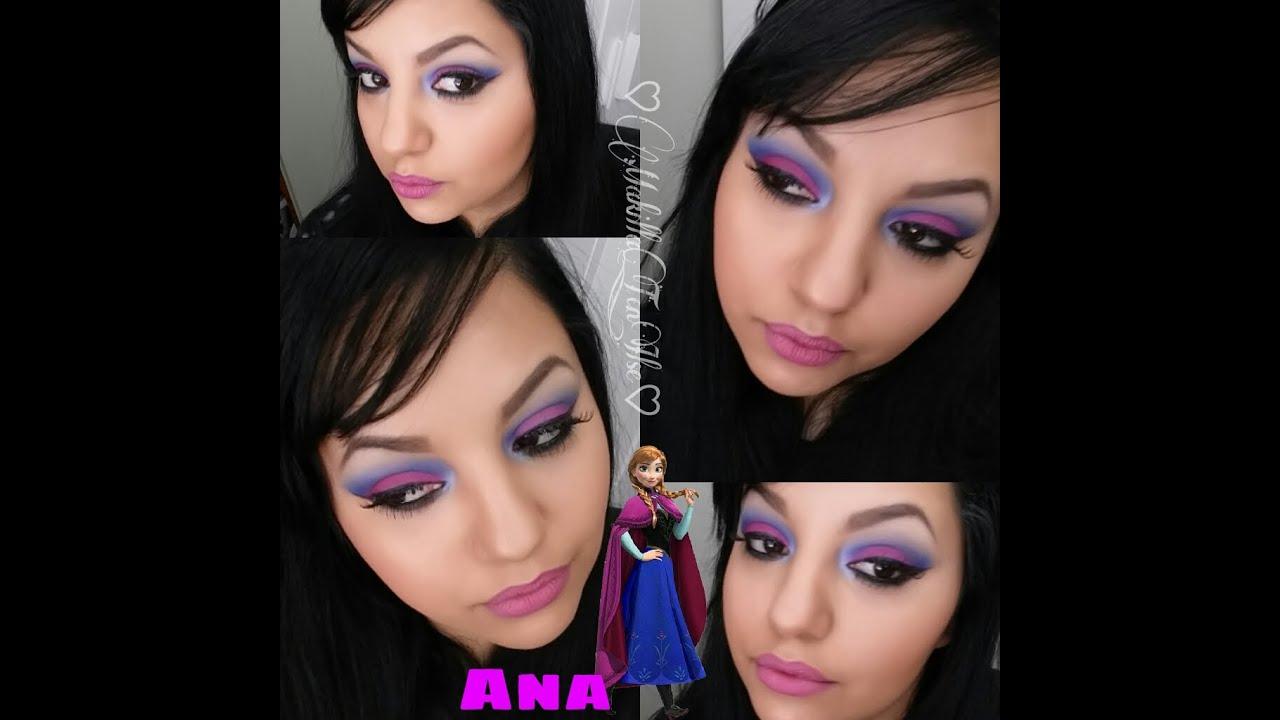 Maquillaje Ana de Frozen , Disney Colaborativo