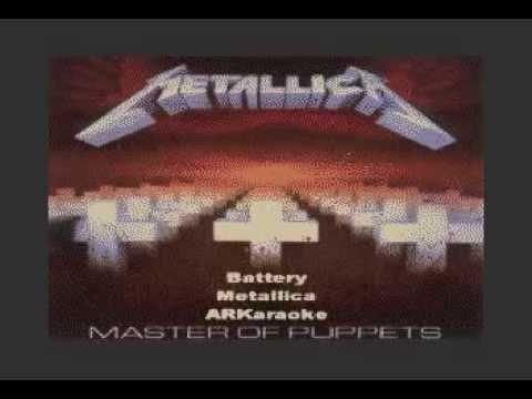 Metallica - Battery Karaoke