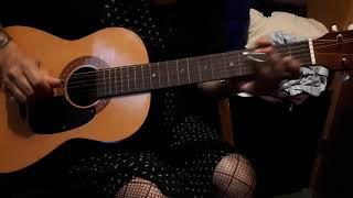 late 1960s winston parlor acoustic guitar slide blues