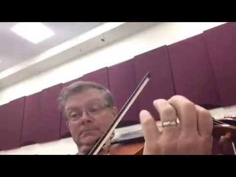1st violin Brandenburg concerto No. 3 Abridged