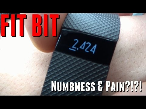 FITBIT NUMBNESS AND PAIN?!?!?!? - YouTube
