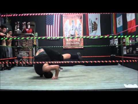 Pro Wrestling School Basic Rolls