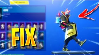"*NEW* DRIFT SKIN JACKET GLITCH! ""FORTNITE JACKET GLITCH STRETCHING FIX!"" FORTNITE JACKET GLITCH FIX!"