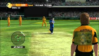 Cricket International 2010 Xbox 360 Gameplay (Australia Vs Sri Lanka)