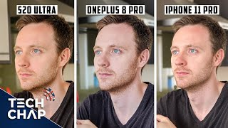 OnePlus 8 Pro vs Samsung S20 Ultra vs iPhone 11 Pro Max CAMERA Comparison! | The Tech Chap
