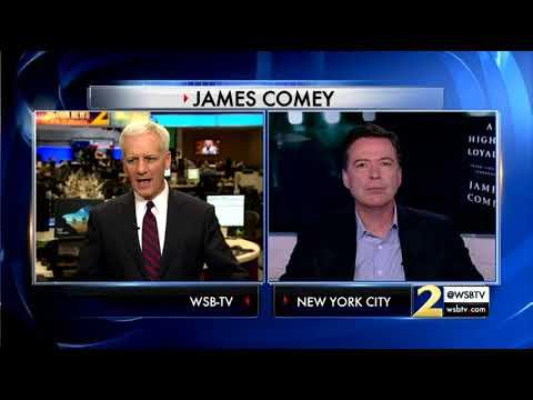 RAW VIDEO: Channel 2's Richard Elliot speaks with former FBI Director James Comey