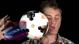 Face punch by the slow mo guys (with a football) - bbc click