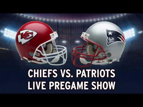 Chiefs Vs. Patriots LIVE Pregame Show From Gillette Stadium