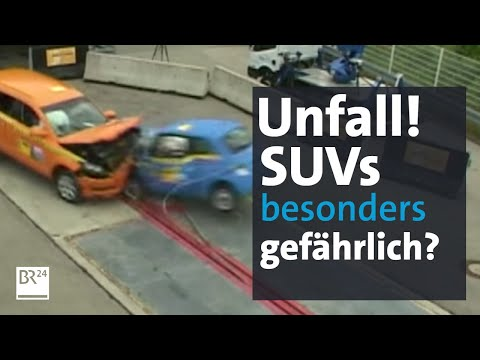 SUV-Crash vs. PKW: