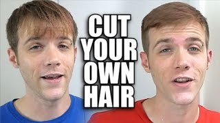 How To Cut Your Own Hair FAST AND EASY