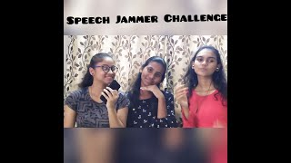 Speech Jammer Challenge | The Jogani Sisters | #games#indoorgames#speechjammer