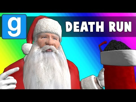 Gmod Deathrun Funny Moments - Santa's Workshop! (Garry's Mod)