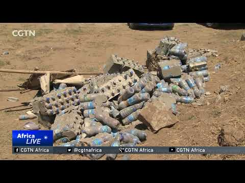 Ethiopia: Innovator builds solid houses from recycled plastic bottles thumbnail