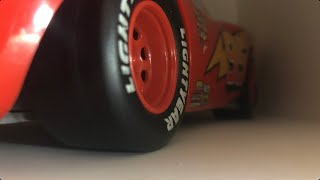Disney Pixar Cars 1 First Race Preparation Remake • Lightning's Introduction • Stop Motion  🏎⚡️