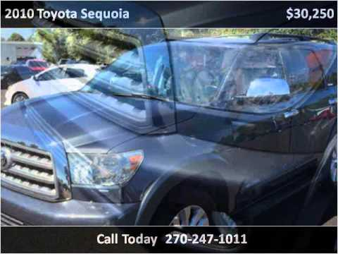 2010 toyota sequoia used cars mayfield ky youtube for Seay motors mayfield ky