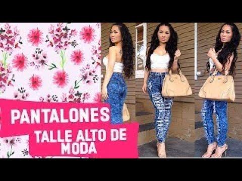 Outfits Con Pantalones Jeans Talle Alto De Moda Youtube