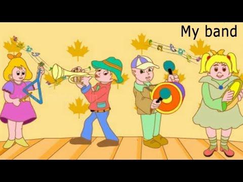 My band - Nursery Rhymes - English