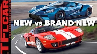 New vs Brand New: Why Is The Ford GT So Sexy?