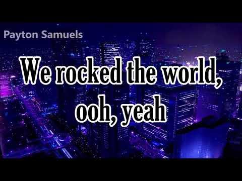 The Script - Rock The World (Lyrics)