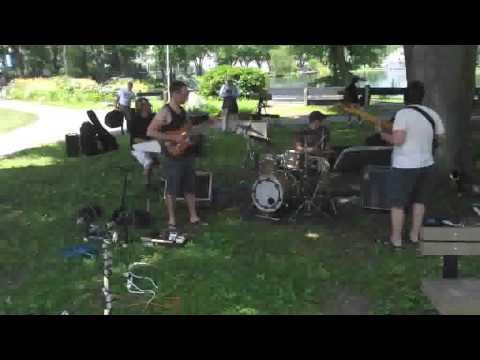 Scogeojam At Live Art Fusion Festival 5, Heckscher Park, Huntington NY, 7.7.13