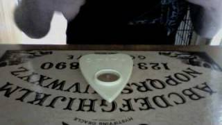 HOW TO USE A OUIJA BOARD ALONE.