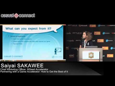 Partnering with a Game Accelerator   Saiyai SAKAWEE