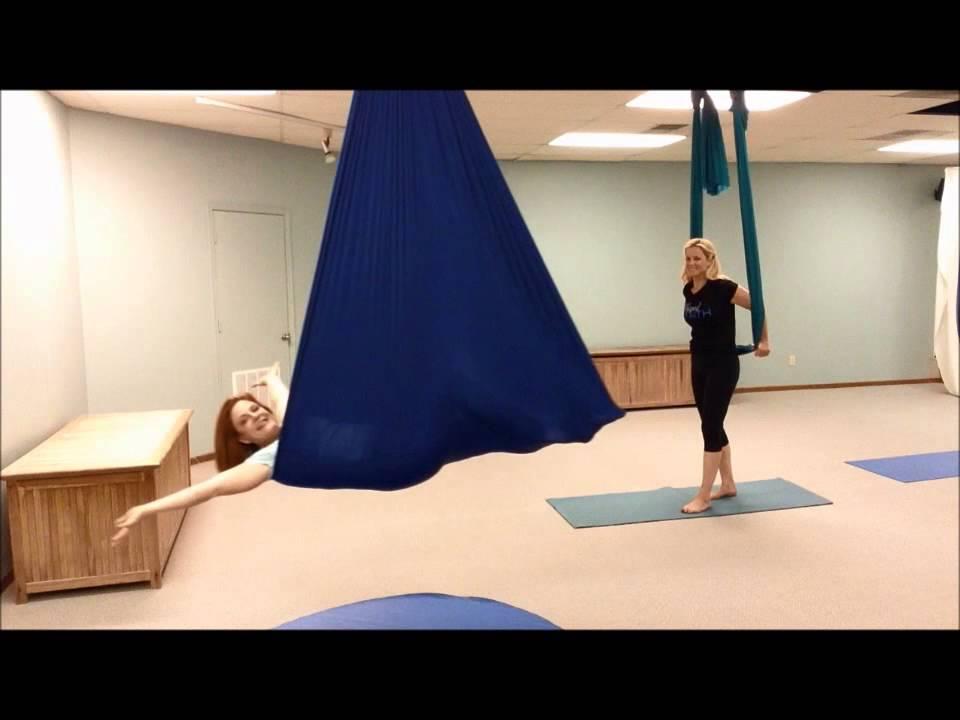 Shaped By Faith Radio Aerial Yoga Angel Flip Yoga At The