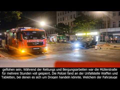 Berlin – raserunfall fordert zwei schwerverletzte – maz - märkische allgemeine