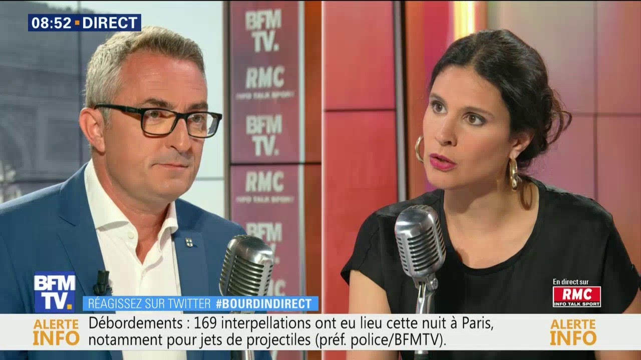 Stéphane Ravier, candidat RN à la mairie de Marseille, était sur RMC et BFMTV