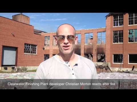 Clearwater Finishing Plant owner reacts to fire damage