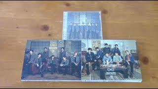 [UNBOXING] INFINITE (인피니트) 3rd Japan Album Air (All Versions)