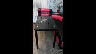 Стеклянный Кухонный Стол Damar от фабрики Signal! Видеобзор.