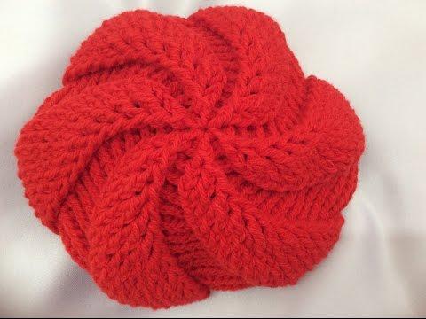 Crochet beret hat part 1( round 1 _5) Móc mũ nồi  phần 1 vòng 1_5