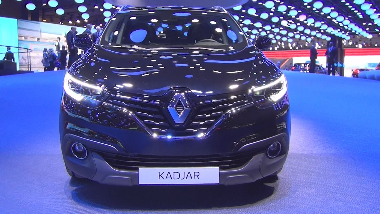 renault kadjar black edition energy dci 130 awd 4x4 2017 exterior and interior in 3d youtube. Black Bedroom Furniture Sets. Home Design Ideas