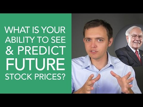 What is Your Ability to See the Future of Stock Prices?