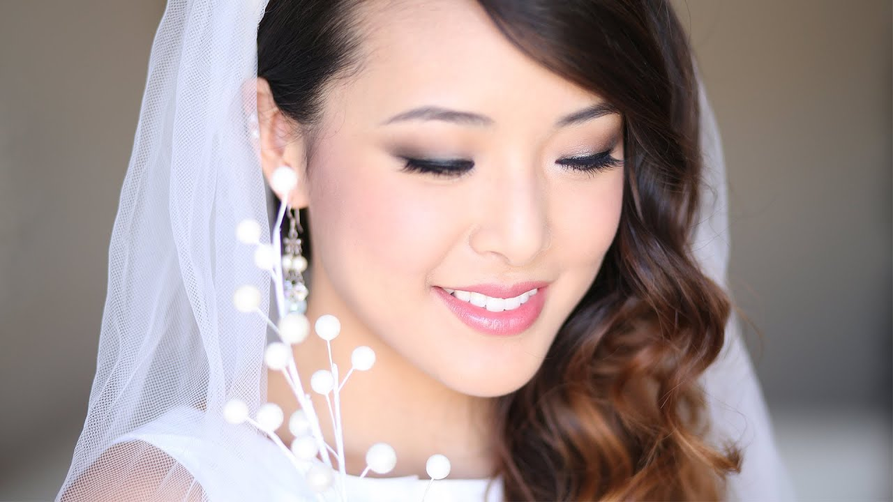 Bridal Wedding Makeup Tutorial Youtube