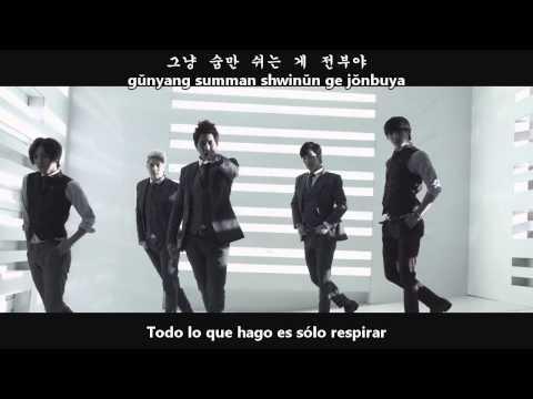 MBLAQ - Be A Man [Sub Español + Hangul + Romanización]