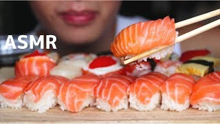 ASMR Eating Sounds | Sushi (Chewy Eating Sound) | MAR ASMR