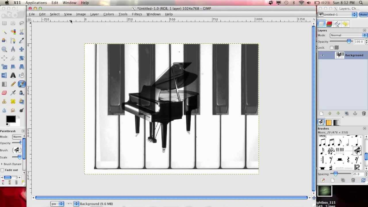 How to Install GIMP Brushes on MAC