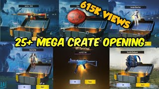 25+ CRATE OPENING IN PUBG MOBILE 0.13 || PUBG MEGA CRATE OPENING || BEST VPN FOR CRATE OPENING ||