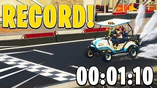 *RECORD* FAIRE LE CIRCUIT EN TEMPS RECORD SUR FORTNITE BATTLE ROYALE !!!