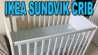 Зібрати ліжечко ІКЕА Сундвик в 23 хвилини! (Проміжок часу) - Розпакування та огляд - неосвічений батько