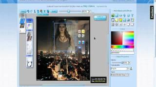урок 12 эффект прозрачного фото (под водопадом)